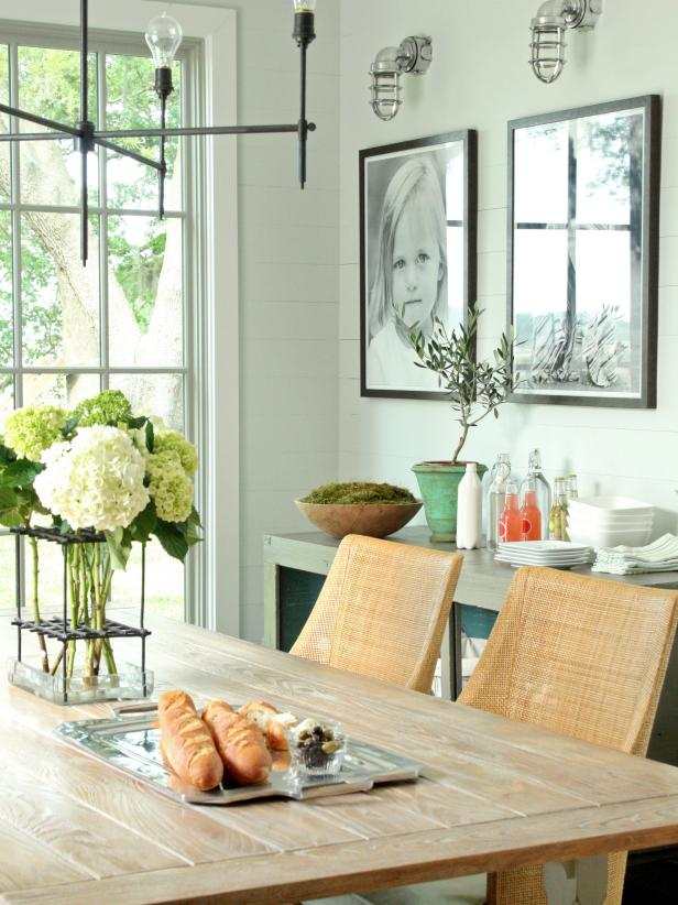 Dining Room wall Decor Family Photography - harpmagazine.com